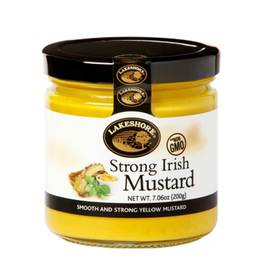 FOODS LAKESHORE STRONG IRISH MUSTARD (220g)