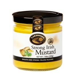 FOODS LAKESHORE STRONG IRISH MUSTARD (220g)
