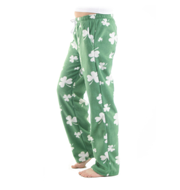 ACCESSORIES LADIES SHAMROCK FLEECE PAJAMA PANTS