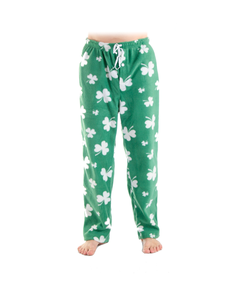 ACCESSORIES MENS SHAMROCK FLEECE PAJAMA PANTS