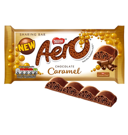 CANDY NESTLE AERO CARAMEL SHARING BAR (100g)