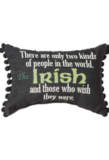 """TAPESTRIES, THROWS, ETC. """"TWO KINDS OF PEOPLE…"""" IRISH DECORATIVE PILLOW"""
