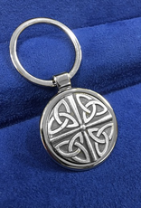 ACCESSORIES MULLINGAR PEWTER KEYCHAIN