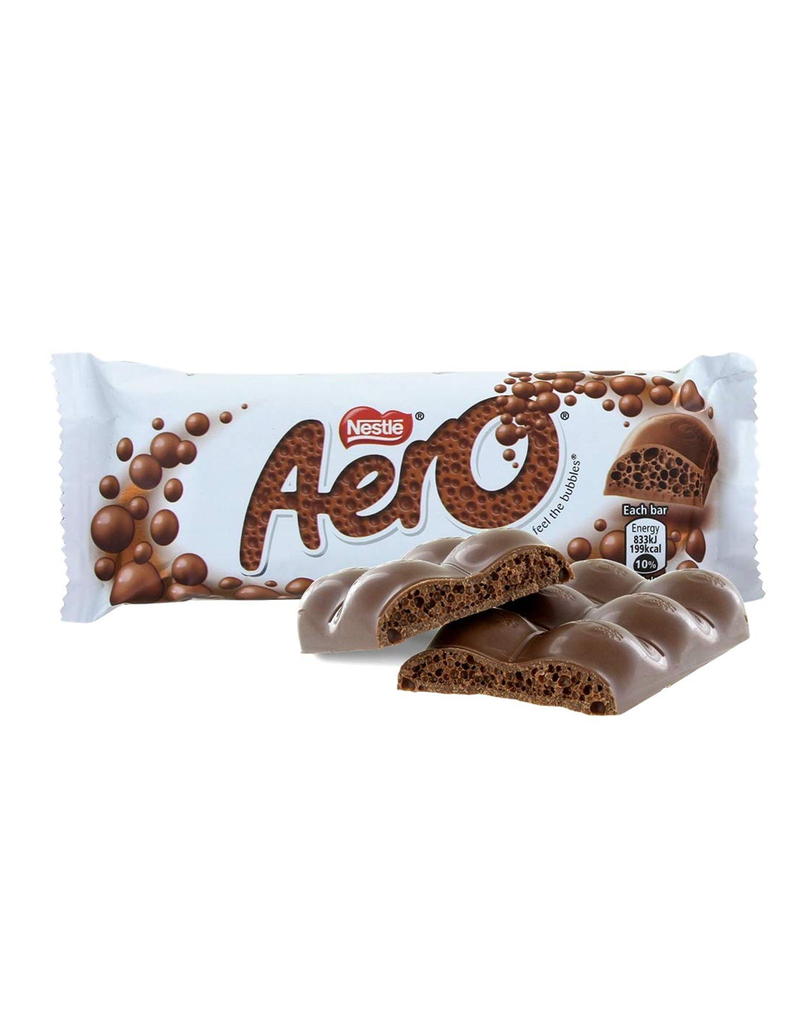 CANDY NESTLE AERO MILK CHOCOLATE BAR (36g)