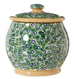 KITCHEN & ACCESSORIES NICHOLAS MOSSE SML ROUND LIDDED JAR - GREEN LAWN