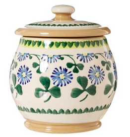 KITCHEN & ACCESSORIES NICHOLAS MOSSE SML ROUND LIDDED JAR - CLOVER