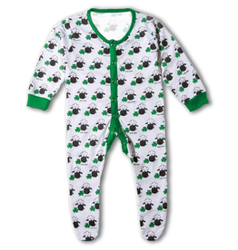BABY CLOTHES BABY SHEEP IRISH FOOTIE PAJAMA