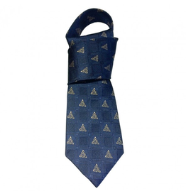 ACCESSORIES PATRICK FRANCIS CELTIC KNOT SILK TIE - Navy