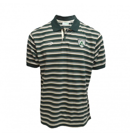 SHIRTS LANSDOWNE BOTTLE GREEN STRIPED POLO