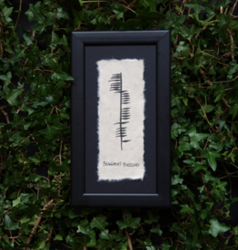 PLAQUES & GIFTS OGHAM WISHES FRAMED ART - Blessing