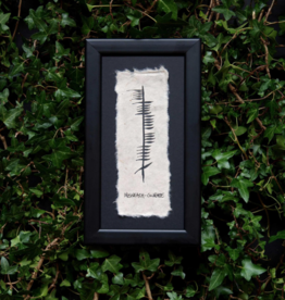 PLAQUES & GIFTS OGHAM WISHES FRAMED ART - Courage