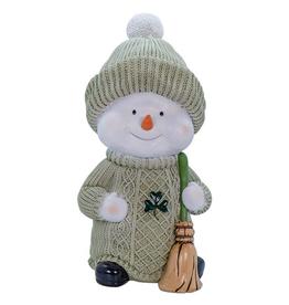 SNOWMEN ARAN IRISH SNOWMAN