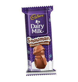MISC FOODS CADBURY CHOCOLATE MOUSSE SNOWMAN (30g)