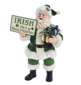 """SANTAS """"IRISH YOU A MERRY…"""" IRISH SANTA"""