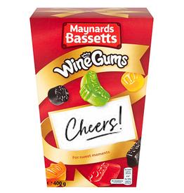CANDY BASSETTS WINE GUMS CARTON (400g)
