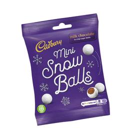 FOODS CADBURY MINI SNOWBALLS (80g)
