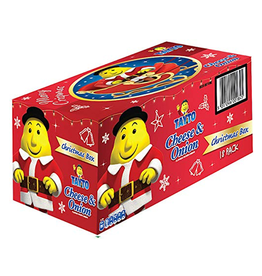 MISC FOODS TAYTOS CHEESE & ONION CHRISTMAS BOX - (18x25g)