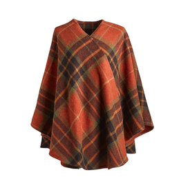 CAPES & RUANAS FIA BRUSHED LAMBSWOOL CAPE - Ashling