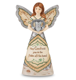 ANGELS IRISH ANGEL HOLDING CLADDAGH