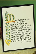 """PLAQUES & GIFTS """"MAY THE ROAD RISE..."""" PLAQUE"""