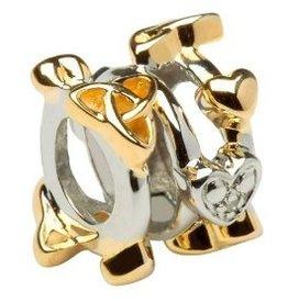 BEADS CLEARANCE - TARA'S DIARY DIAMOND TRINITY WEAVE BEAD - FINAL SALE