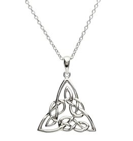 PENDANTS & NECKLACES CLEARANCE - SHANORE STERLING INTRICATE TRINITY PENDANT - FINAL SALE