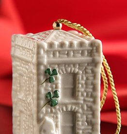ORNAMENTS CASTLE CALDWELL GATE HOUSE BELL 2015 BELLEEK ORNAMENT
