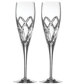 WEDDING FLUTES GALWAY CRYSTAL MYSTIQUE FLUTES (2)