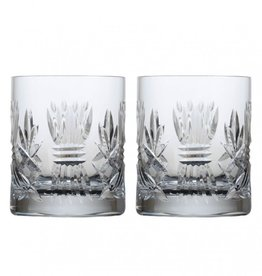 GIFTWARE EMERALD CRYSTAL BARLEY DOF GLASSES