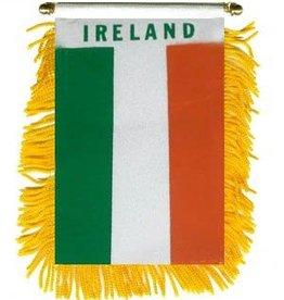 IRISH TCHOTCHKES & LITTLE ITEMS MINI IRISH FLAG BANNER