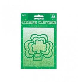 KITCHEN & ACCESSORIES SHAMROCK PLASTIC COOKIE CUTTERS