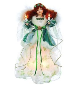 ANGELS IRISH ANGEL TREE TOPPER