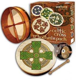 "TRADITIONAL IRISH GIFTS WALTONS 12"" BODHRAN PACK"