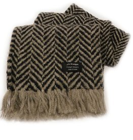 ACCESSORIES BRANIGAN WEAVERS SCARF - OAK BEIGE
