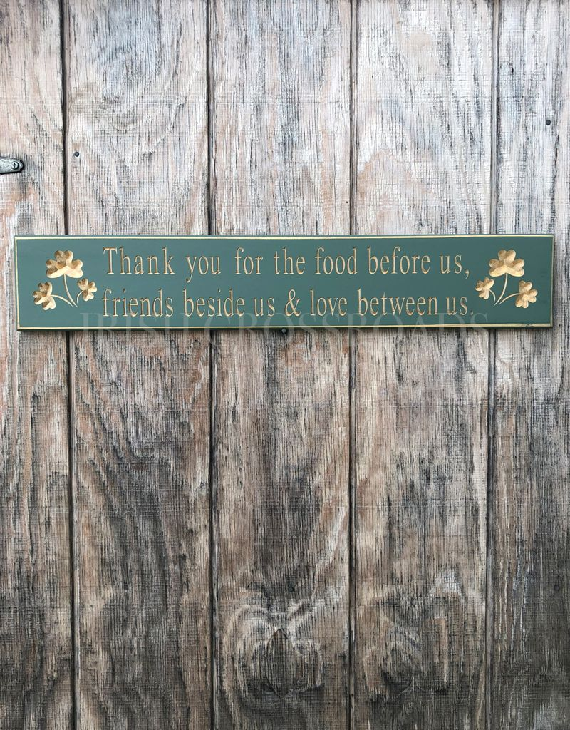 """PLAQUES & GIFTS """"THANK YOU FOR..."""" CARVED WOOD SIGN"""