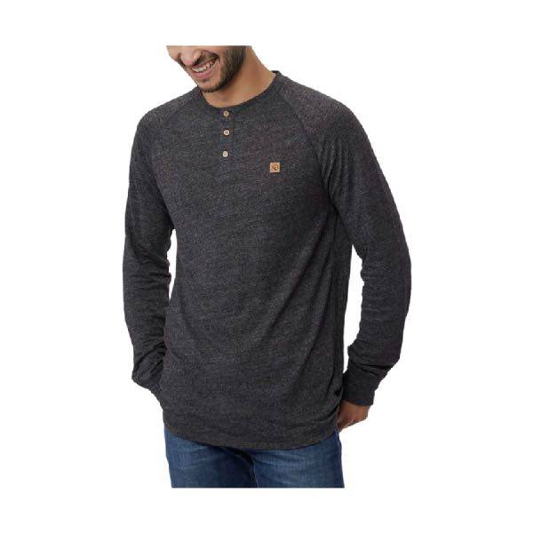 Tentree Boulder Henley Long Sleeve