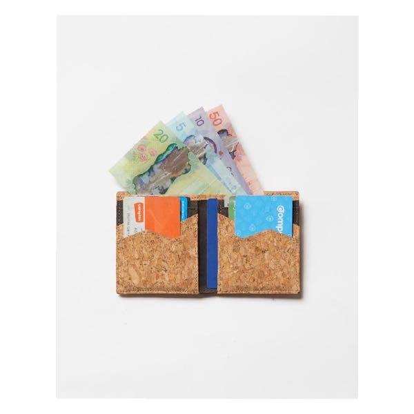 Tentree Cork Card Wallet