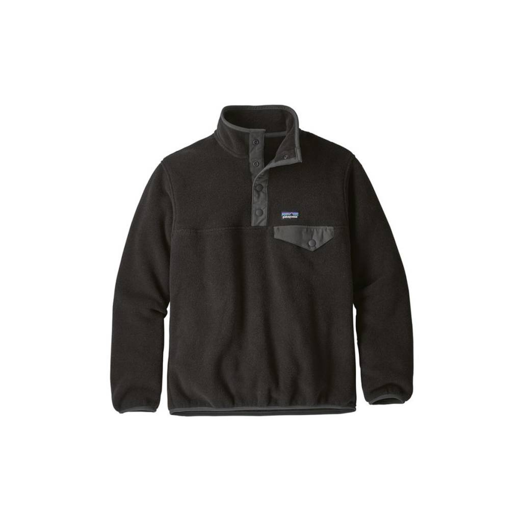 Patagonia Boys' Lightweight Synchilla Snap-T Pullover
