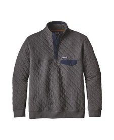 Men's Organic Cotton Quilt Snap-T Pull Over