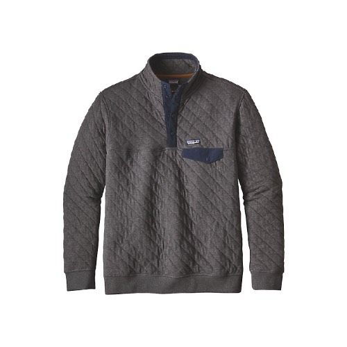 Patagonia Men's Organic Cotton Quilt Snap-T Pull Over