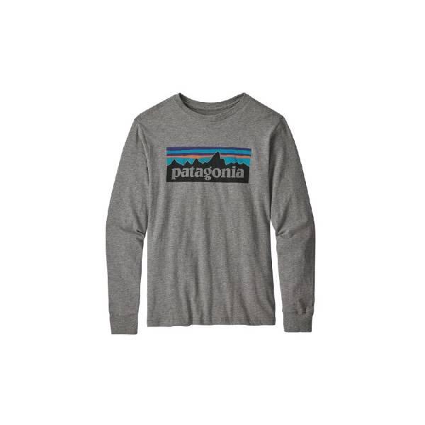 Patagonia Boy's  Long Sleeve Graphic Organic T-Shirt