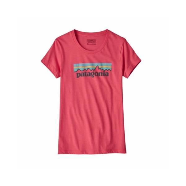 Patagonia Girl's Pastel P-6 Logo Organic T-Shirt