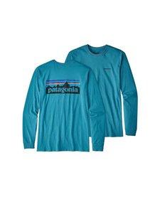Men's Long Sleeve P-6 Logo Cotton T-Shirt