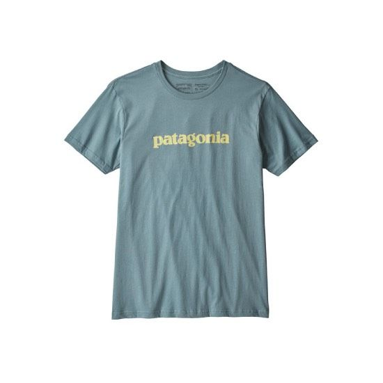 Patagonia Men's Text Logo Organic T-Shirt
