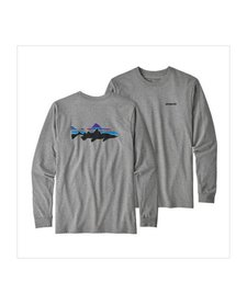 Men's Long Sleeve Fitz Roy Trout Responsibili-Tee