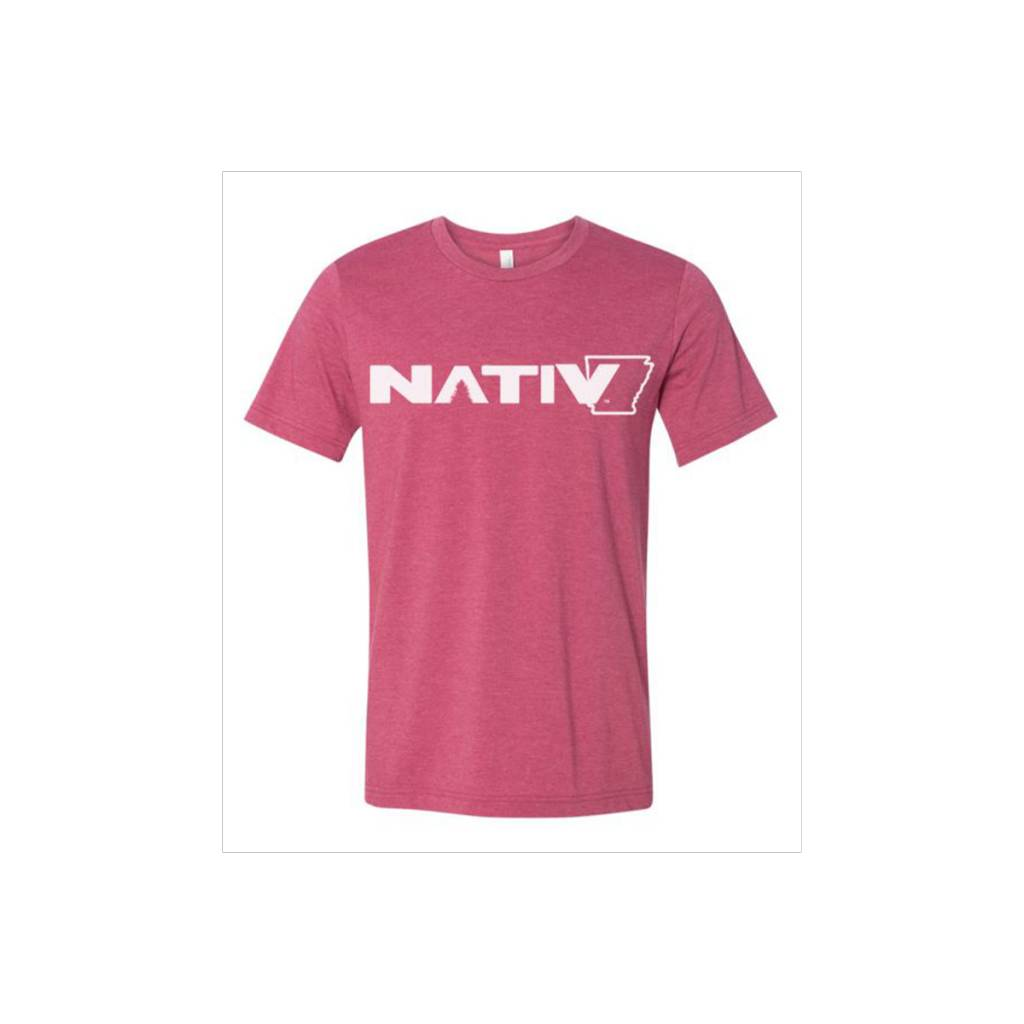 Nativ AR State Logo Short Sleeve Tee