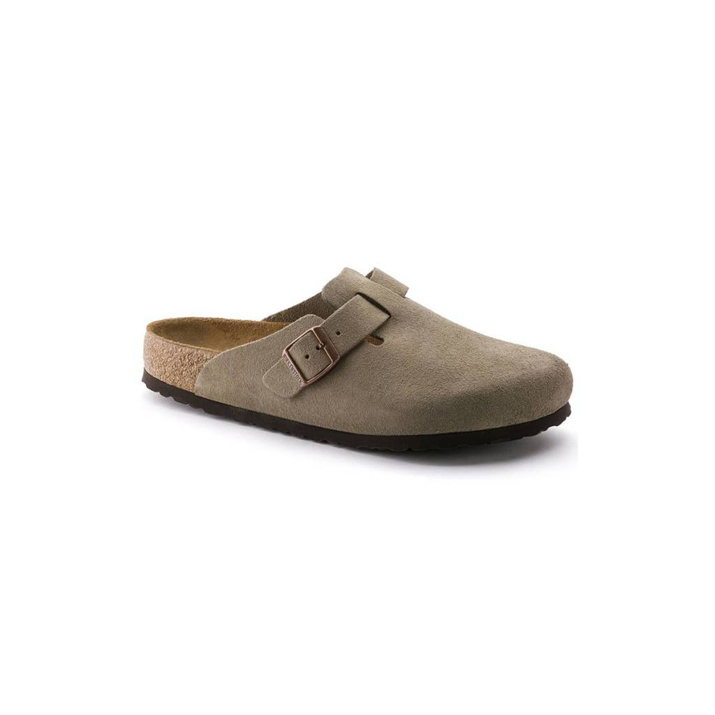 Birkenstock Boston Soft Footbed Suede-Regular