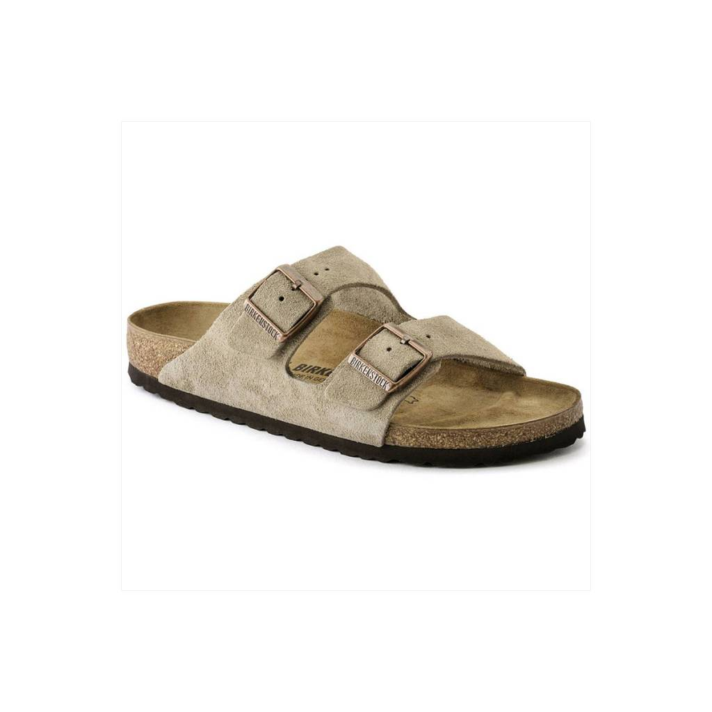 Birkenstock Arizona Soft Footbed Suede-Narrow