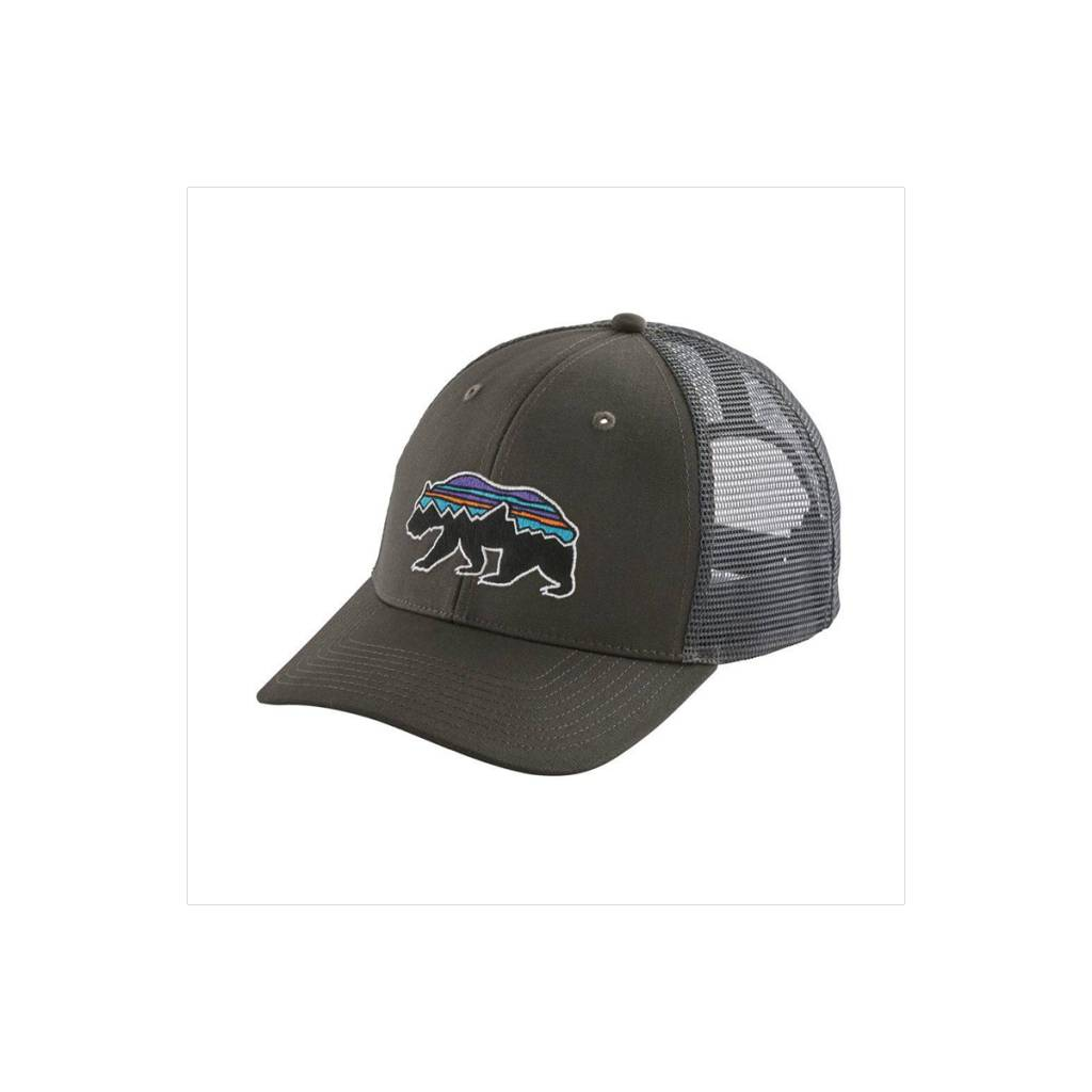 Patagonia Fitz Roy Bear Trucker Hat - Gearhead Outfitters 690b66da329