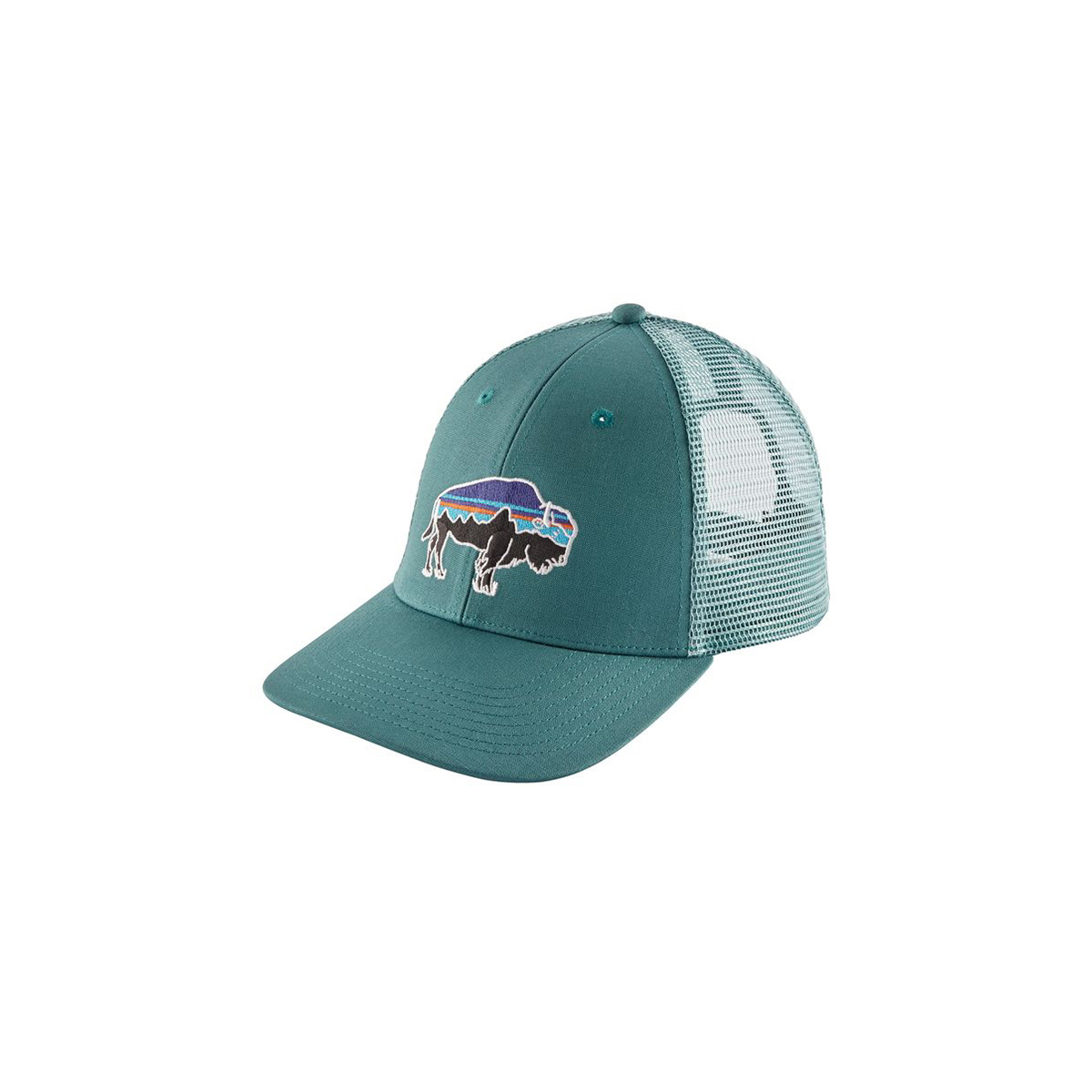 08e1b1ae Patagonia Fitz Roy Bison LoPro Trucker Hat - Gearhead Outfitters